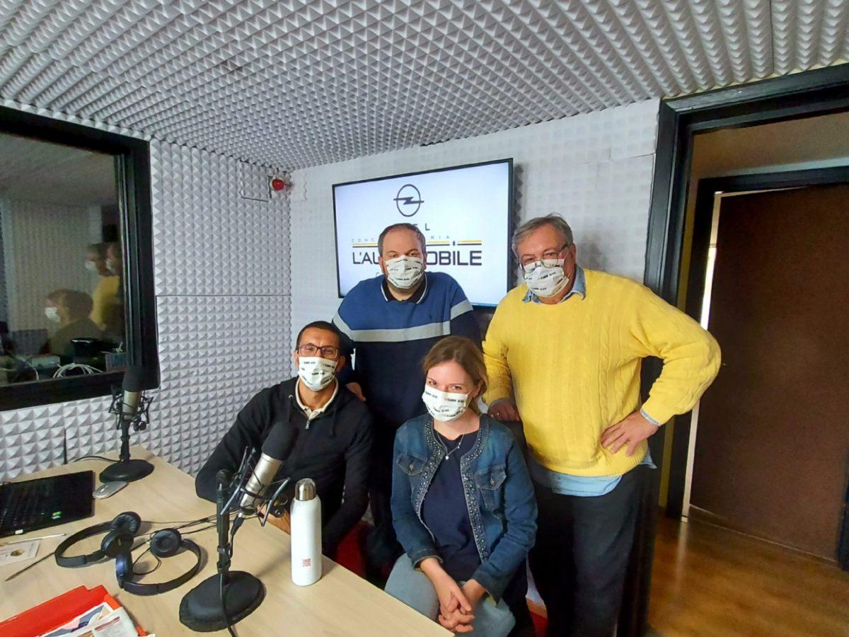 Ci raccontiamo a Radio Alba per Marcello Press