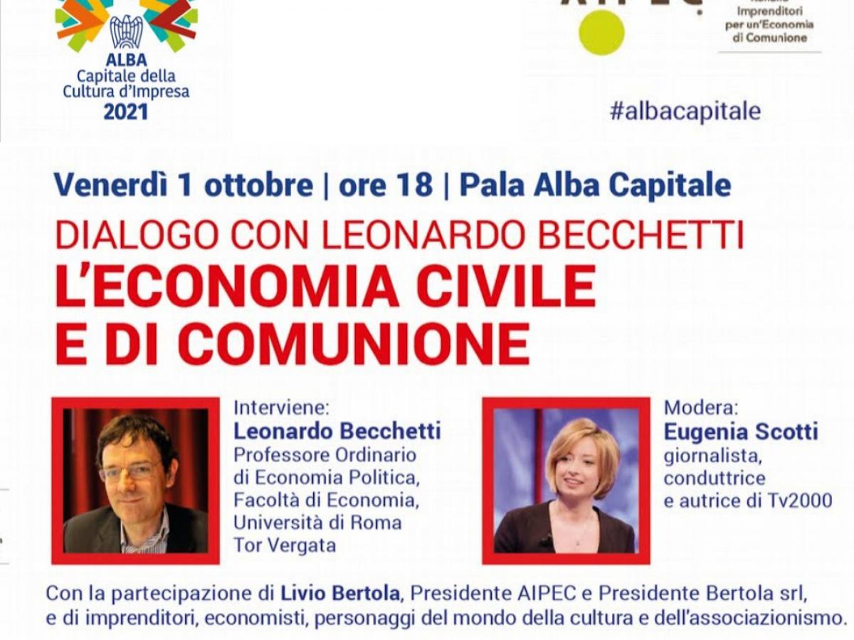 Dialogo su Economia Civile e di Comunione